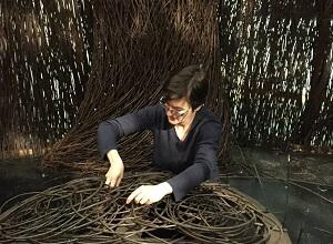 Sarah Class weaving