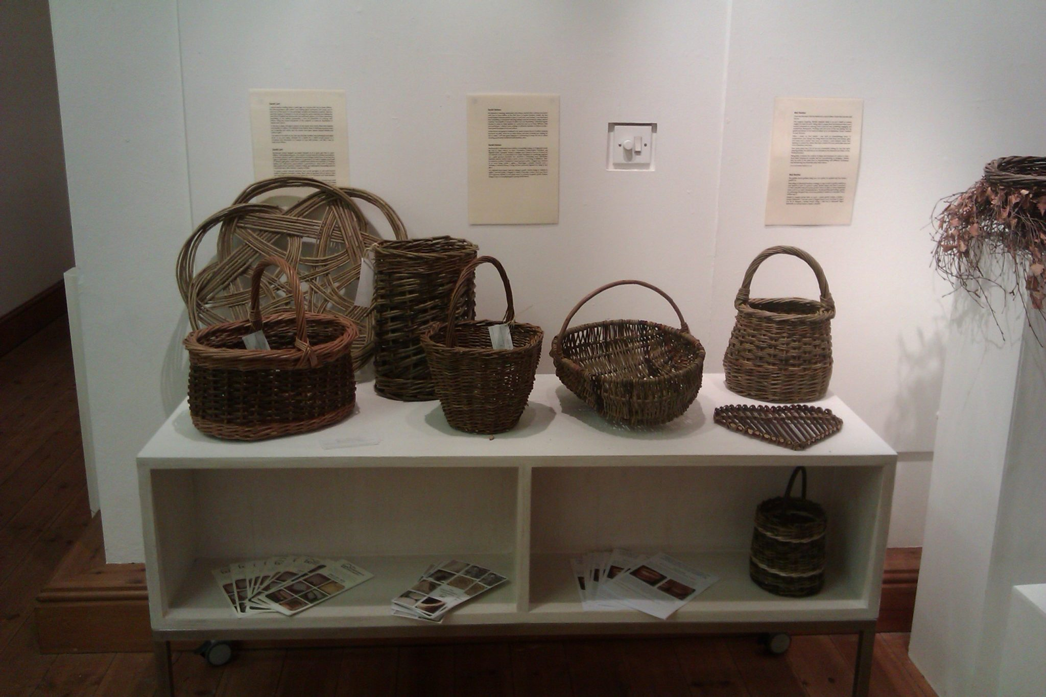 South Wales Basketmakers contribution to Art of Basketry Exhibition