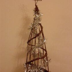Obelisk Christmas tree