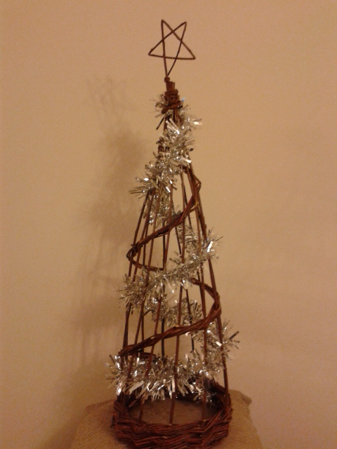 Obelisk Christmas tree