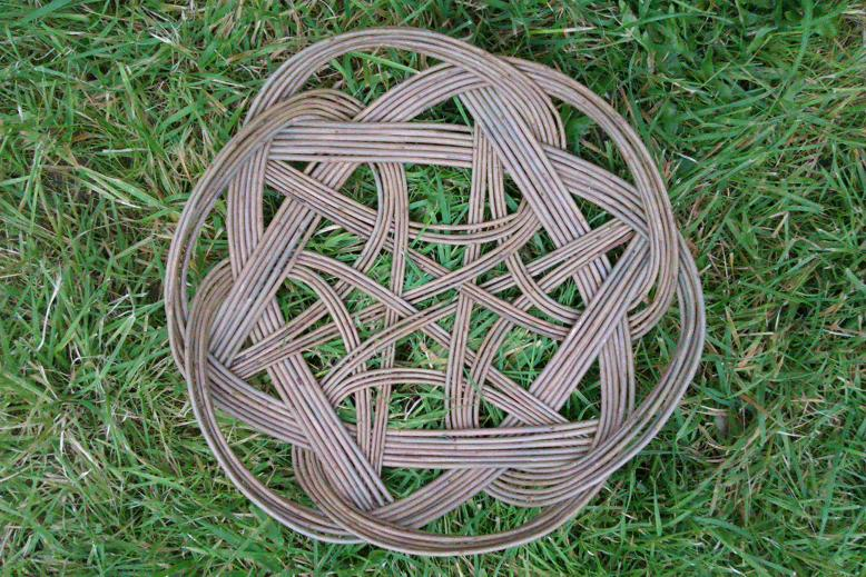 Tatska or Celtic knot basket