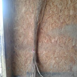 6 foot dried willow bundle