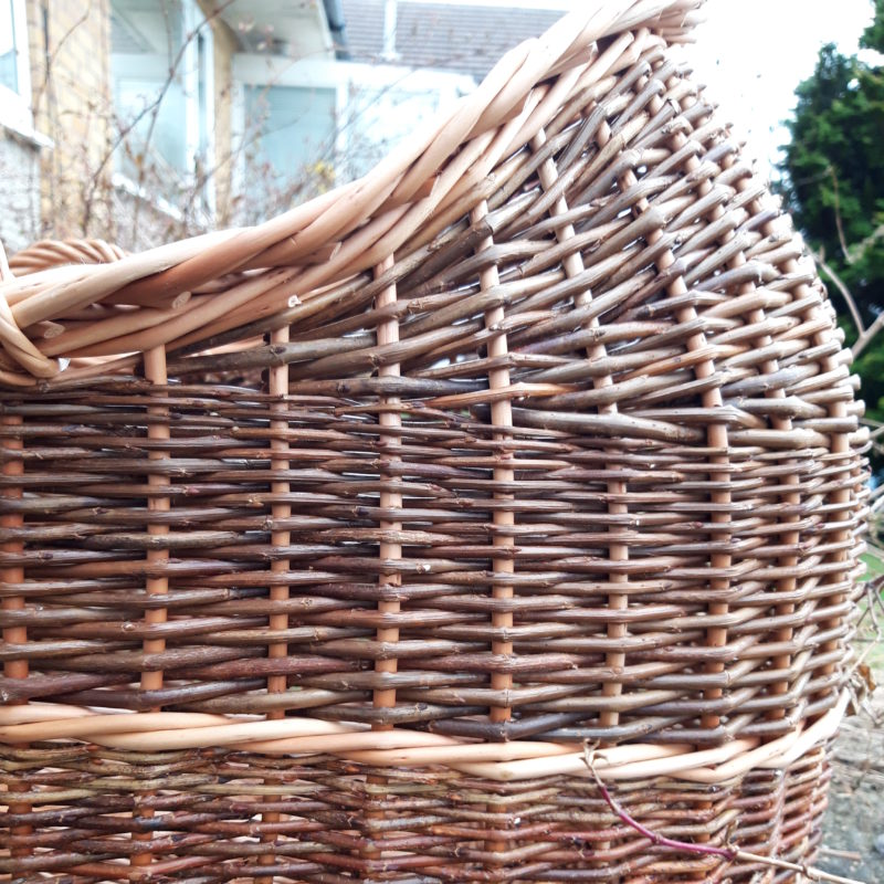 Moses basket close up