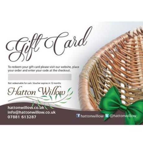 Gift card via post